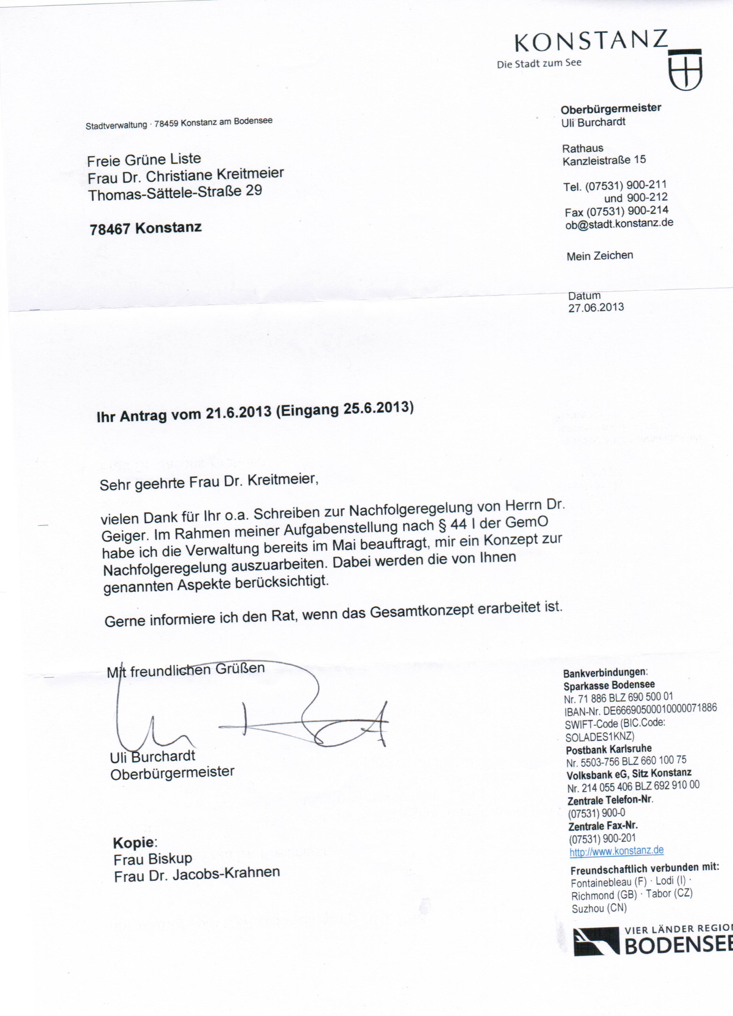 fgl konstanz ausschuss fr schulen bildung wissenschaft und 6 bewerbung - Bewerbung Fur Eine Schule